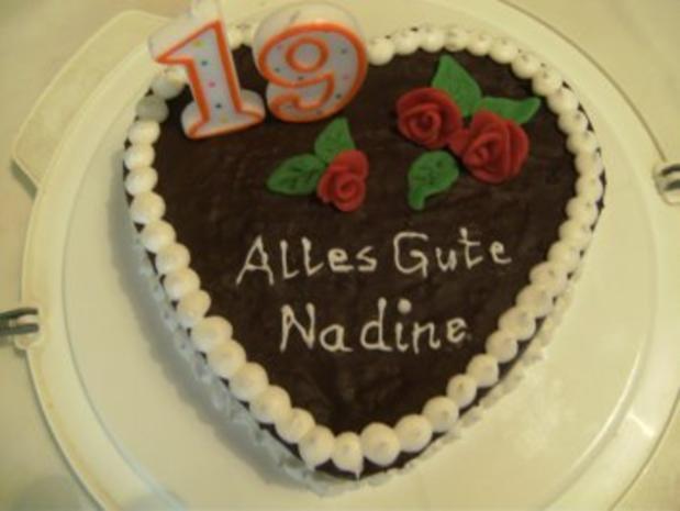 KUCHEN - Geburtstagskuchen für Nadine - Rezept