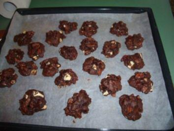 Double-chocolate Cookies - Rezept