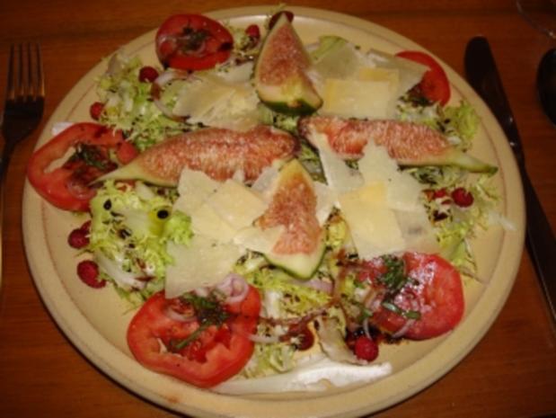 Sommer Salat mit Feigen - Rezept