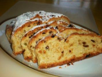 KUCHEN: Butter-Weihnachtsstollen - Rezept