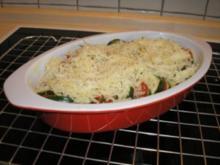 Zucchini-Tomatengratin - Rezept