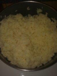 Butter-Knoblauch-Reis - Rezept