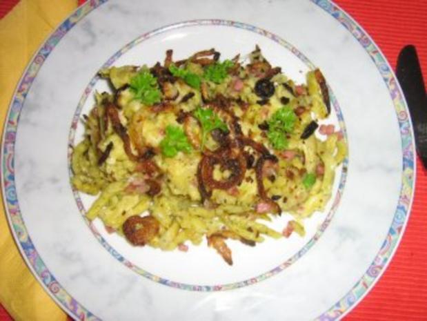Kräuter-Käsespätzle - Rezept - Bild Nr. 9
