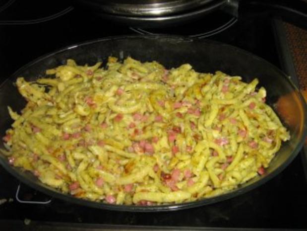 Kräuter-Käsespätzle - Rezept - Bild Nr. 5