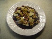 Vorspeisen - Vegetarisch - Rote-Bete-Carpaccio - Rezept