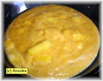 Hauptgericht süss - Mangogriess - Rezept