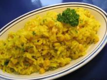 Reis mit Safran und Gemüse... - Rezept