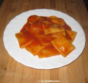 Rezept: Ravioli in Tomatensoße