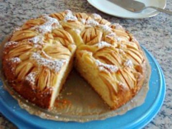 Rezept: Apfelkuchen, sehr fein