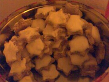Mandel- Zimtsterne - Rezept