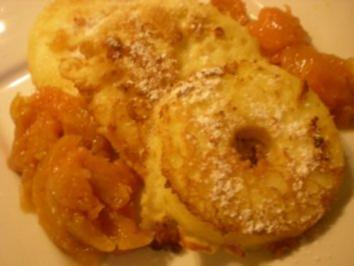 gebackene Apfel Spalten - Rezept
