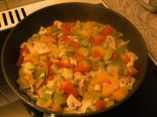 Rühreier im Gemüse-Bett - Rezept