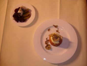 Feines Hamburger Labskaus mit Wachtelspiegelei und Sild-Rollmops - Rezept