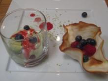 Avocado trifft Raspberry - Rezept