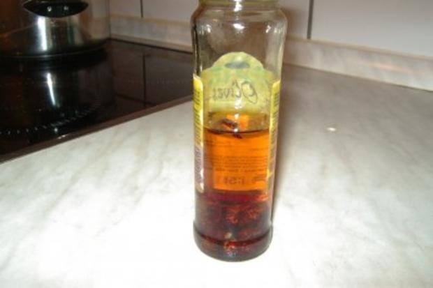 Peperoni-Öl - Rezept