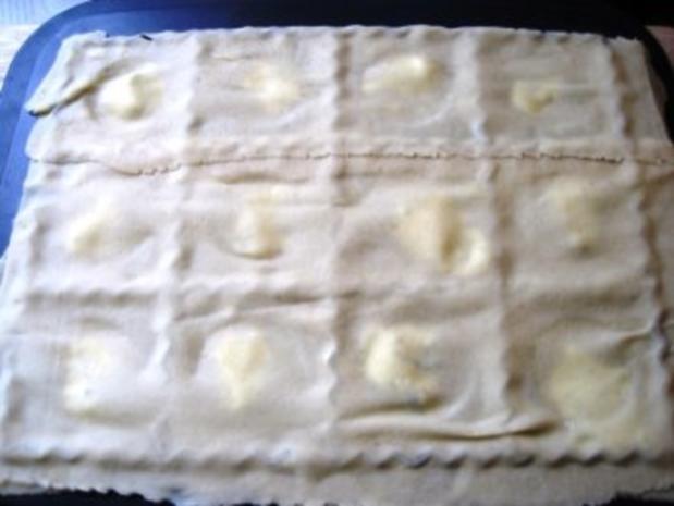 Frischkäsenudeln mit Salbei Butter - Rezept - Bild Nr. 2