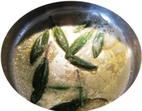 Frischkäsenudeln mit Salbei Butter - Rezept - Bild Nr. 4