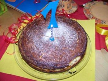 Kuchen - Quarkkuchen - Rezept