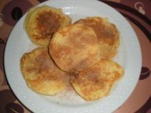 Süßspeise: Apfelküchle - Rezept