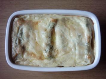 Spinat Ricotta Cannelloni - Rezept