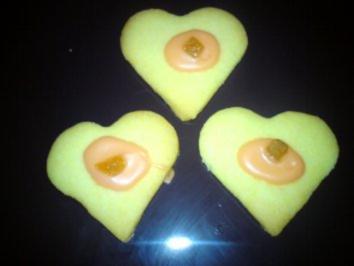 Rezept: Orangenherzen