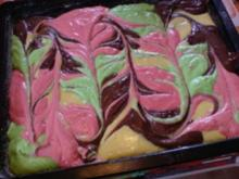 Papageienkuchen zum Fasching oder Kindergeburtstag - Rezept