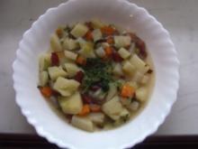 Kartoffelsuppe-schnell und einfach - Rezept