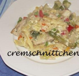 Geschnetzeltes mit Weißkohl- Paprika- Gemüse - Rezept - Bild Nr. 2
