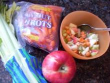 Obst-Gemüse-Salat - Rezept