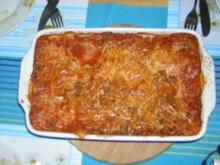 Lasagne mit Hackfleisch - Rezept