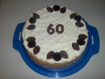 Rezept: Pfirsich - Sahne - Torte