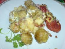Rosenkohl-Kartoffel-Auflauf - Rezept