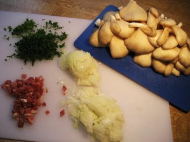 Austernpilze gebraten .... - Rezept - Bild Nr. 2