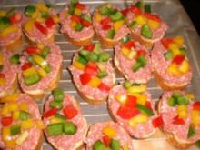 HACKBROTE - gebacken - Rezept