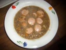 Suppenküche: Linseneintopf - Rezept