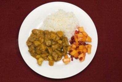 Jumapili-Mbuzi, Erdnuss-Chili-Piment, Granatapfel und Mango (Philipp Sonntag) - Rezept