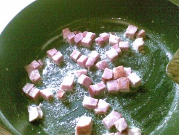 Schupfnudeln mit Sauerkraut und Kasslerwürfel - Rezept - Bild Nr. 3
