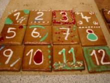Lebkuchen Adventskalender - Rezept