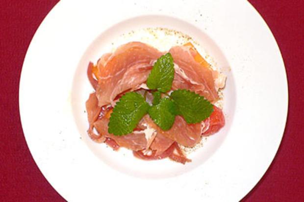 Erfrischender Melonensalat - Rezept