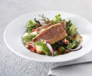 Salat mit Rotbarben - Rezept - Bild Nr. 9