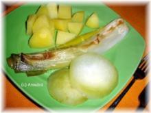 Gemüsebeilage - Porree und Kohlrabi aus dem Bratschlauch - Rezept