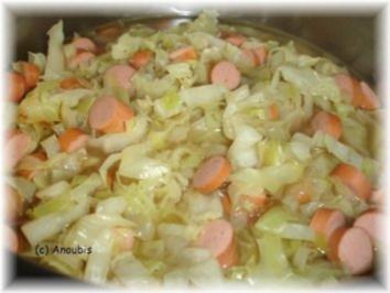 Suppe/Eintopf - Spitzkohl-Eintopf - Rezept