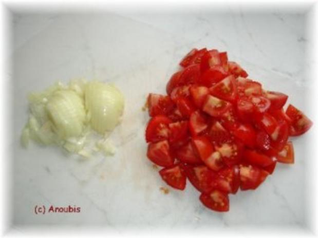 Hauptgericht vegetarisch - Schnelle Tomatensauce - Rezept - Bild Nr. 2