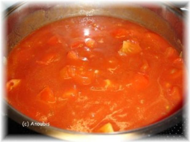 Hauptgericht vegetarisch - Schnelle Tomatensauce - Rezept - Bild Nr. 4