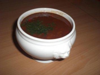 Super leckere Gulaschsuppe - Rezept