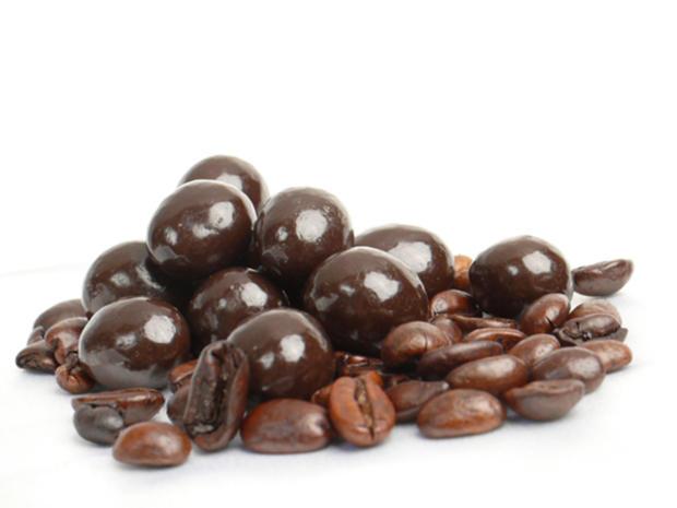 Schokoladenüberzogene Kaffeebohnen - Rezept - Bild Nr. 2
