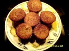 Muffins:Grieß-Cassis-Küchlein - Rezept