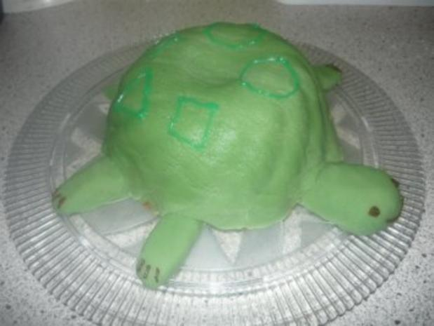 Schildkröten-Kuchen - Rezept