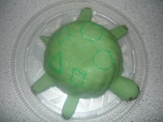 Schildkröten-Kuchen - Rezept - Bild Nr. 2