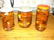 getrocknete Tomaten in Olivenöl - Rezept